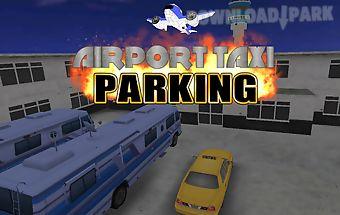 Airport 3d taxi parking