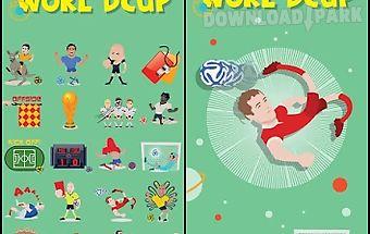 Go keyboard world cup sticker