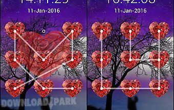 Love lock screen pattern code