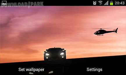 racing cars live wallpaper