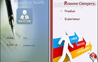 Resume generator