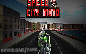Speed city motorcycle