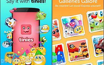 Tinies - fun emoticons app
