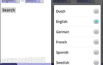 Translator dictionary - free