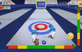 Curling sim 3d