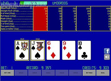 free video poker classic