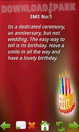 Happy Birthday Sms App