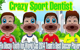 Soccer dentist fix decay tooth f..