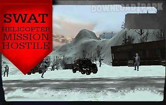 Swat helicopter mission hostile