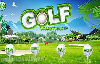 Golf championships