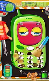 kids mobile reparing