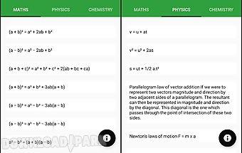 All formulas