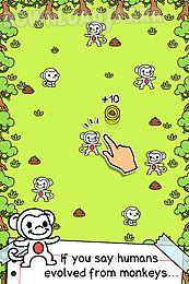 monkey evolution - clicker