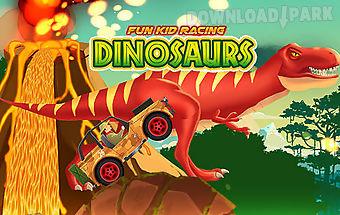 Fun kid racing: dinosaurs world