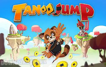Tanoo jump:tanukis vs pandas