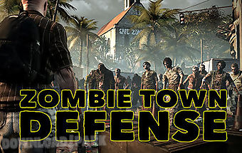 Zombie town defense