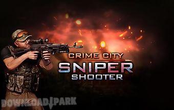 Crime city: sniper shooter