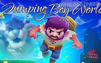 Jumping boy world