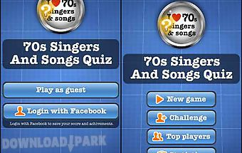 70s singers and songs quiz