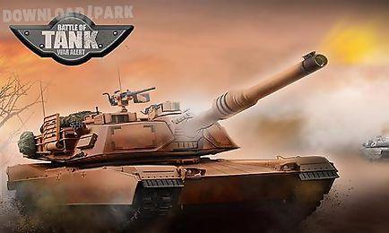 battle of tank: war alert