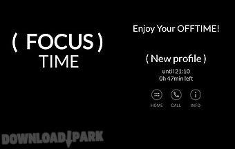 Focus time