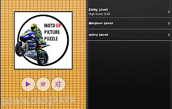 Moto gp picture puzzle game