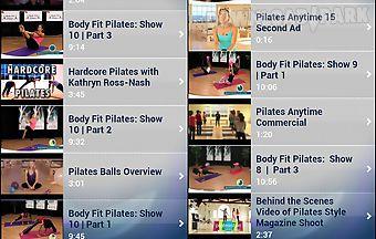 Pilates workout exercises free