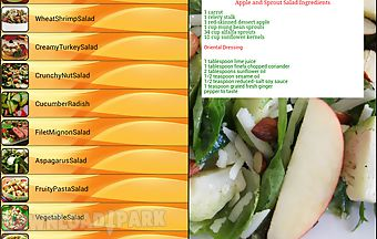 Salad recipe list