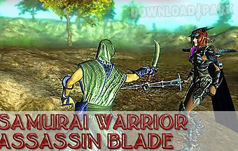 Samurai warrior: assassin blade