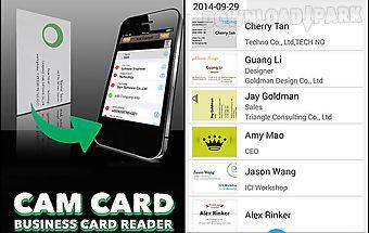 Cam card: business card reader