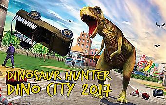 Dinosaur hunter: dino city 2017