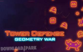 Tower defense: geometry war