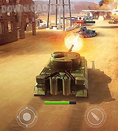 war machines: tank shooter game