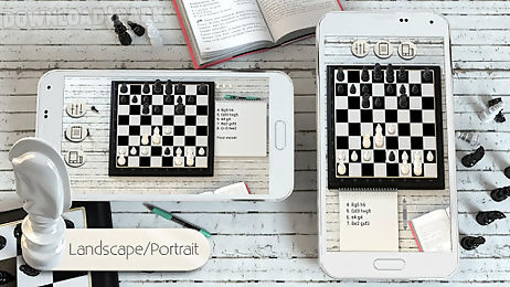 Chess 3d free Android Game free download in Apk