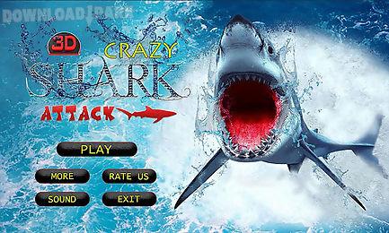 crazy shark attack 3d