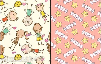 Cute patterns live wallpaper