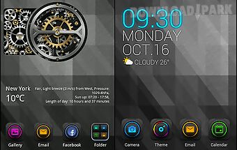 Electric tourbillon go theme