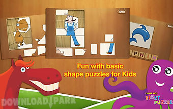 Kids puzzles game hd lite