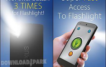 Power button flashlight /torch