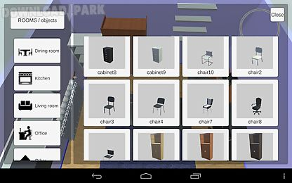Room creator interior design android app free download in apk for Room design 3d apk