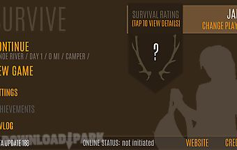 Survive - wilderness survival