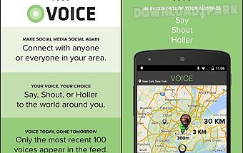Voice: chat & share locally!