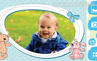 Baby photo frames pic editor