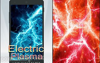 Electric plasma live wallpaper