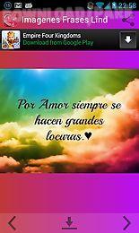 Imagenes Frases Lindas De Amor Android Aplicacion Gratis Descargar Apk