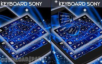 Keyboard for sony xperia go