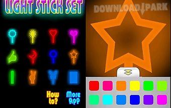Light stick set