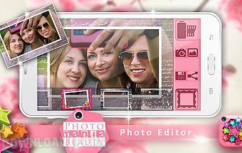 Photomania beauty photo editor