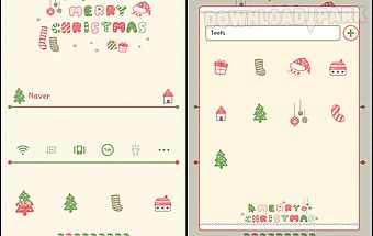 A pretty christmas dodol theme