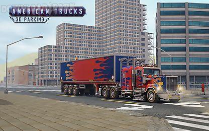 american trucks 3d parking